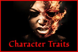 The Haunted Pen - Character Traits