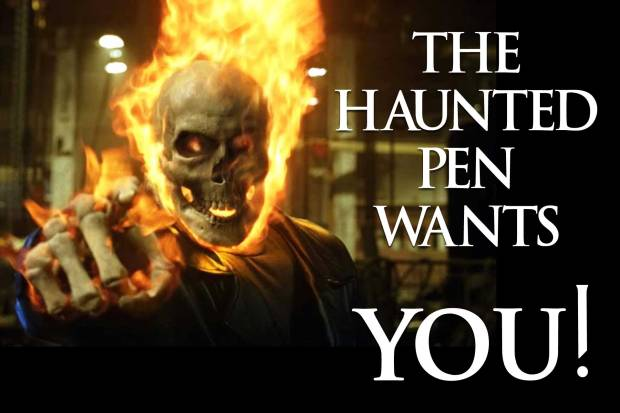 The Haunted Pen Wants YOU