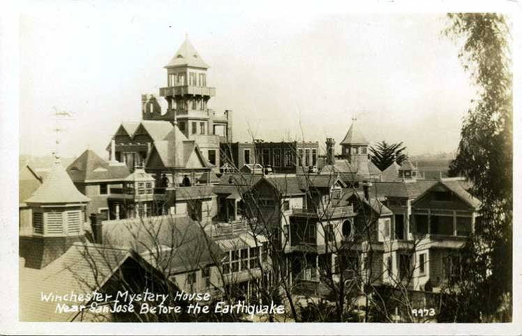 Winchester Mystery House - The Haunted Pen