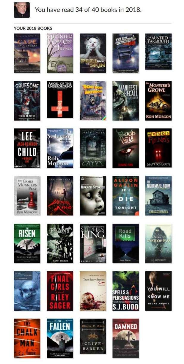 The Haunted Pen - Goodreads Reading Challenge