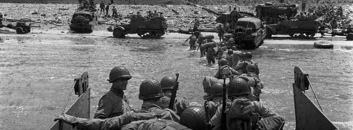 The Haunted Pen - A Walk On The Beach – D Day Remembered